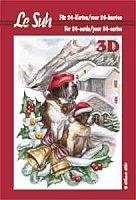 Le Suh A5 Wild Animals 3d Decoupage Book